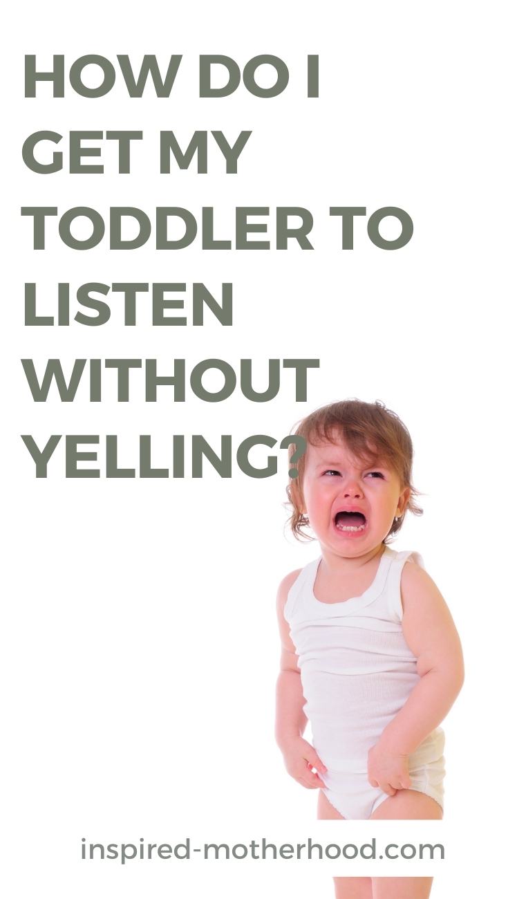 Tired of yelling at your kids to get them to listen? There may be a reason they aren't listening and it's an easy fix! Find out how one mom discovered this simple parenting trick.