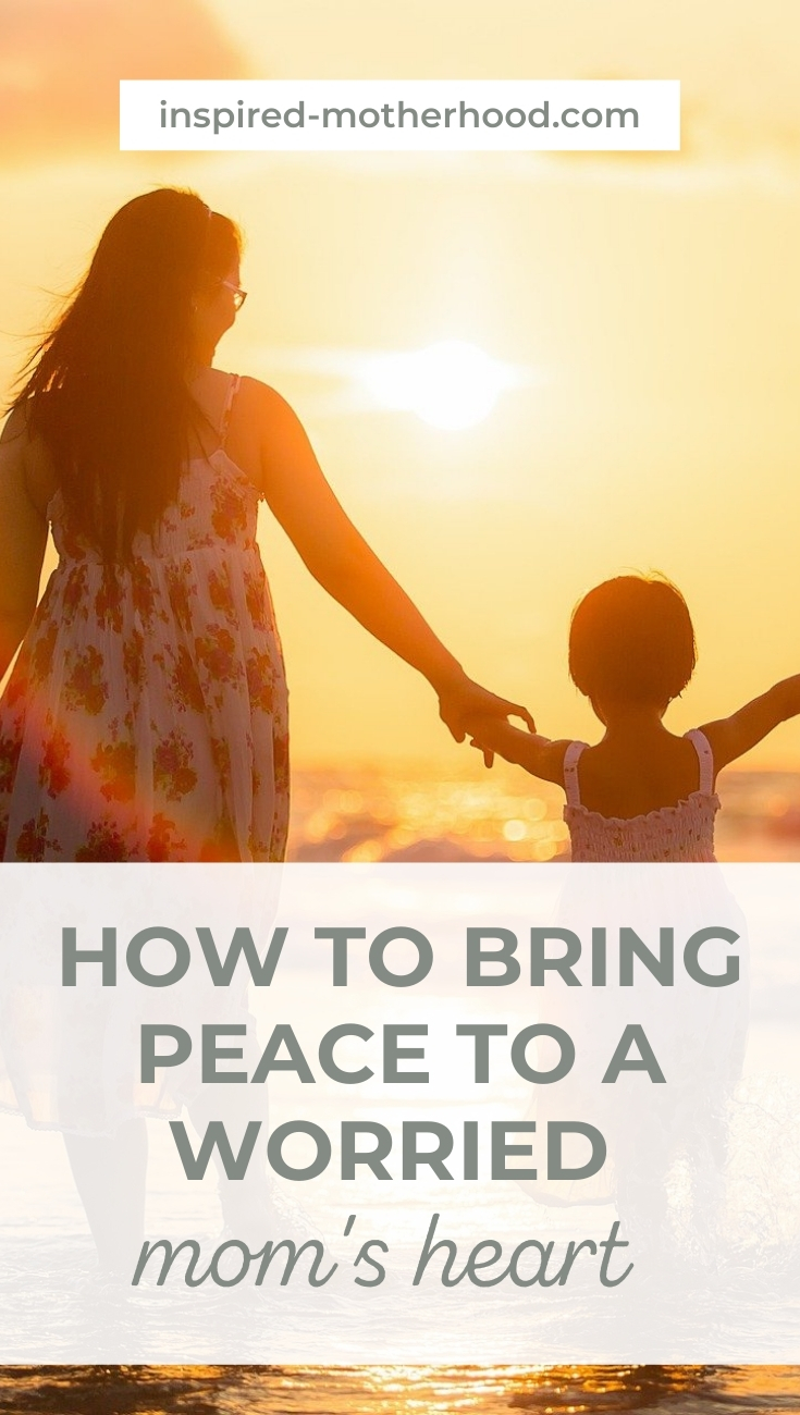 For me, my fear came down to trust. Did I trust God to watch over my our children? I found peace by going through these three easy steps. My worried mom's heart slowly disappeared and I experienced joy in parenthood instead of fear.