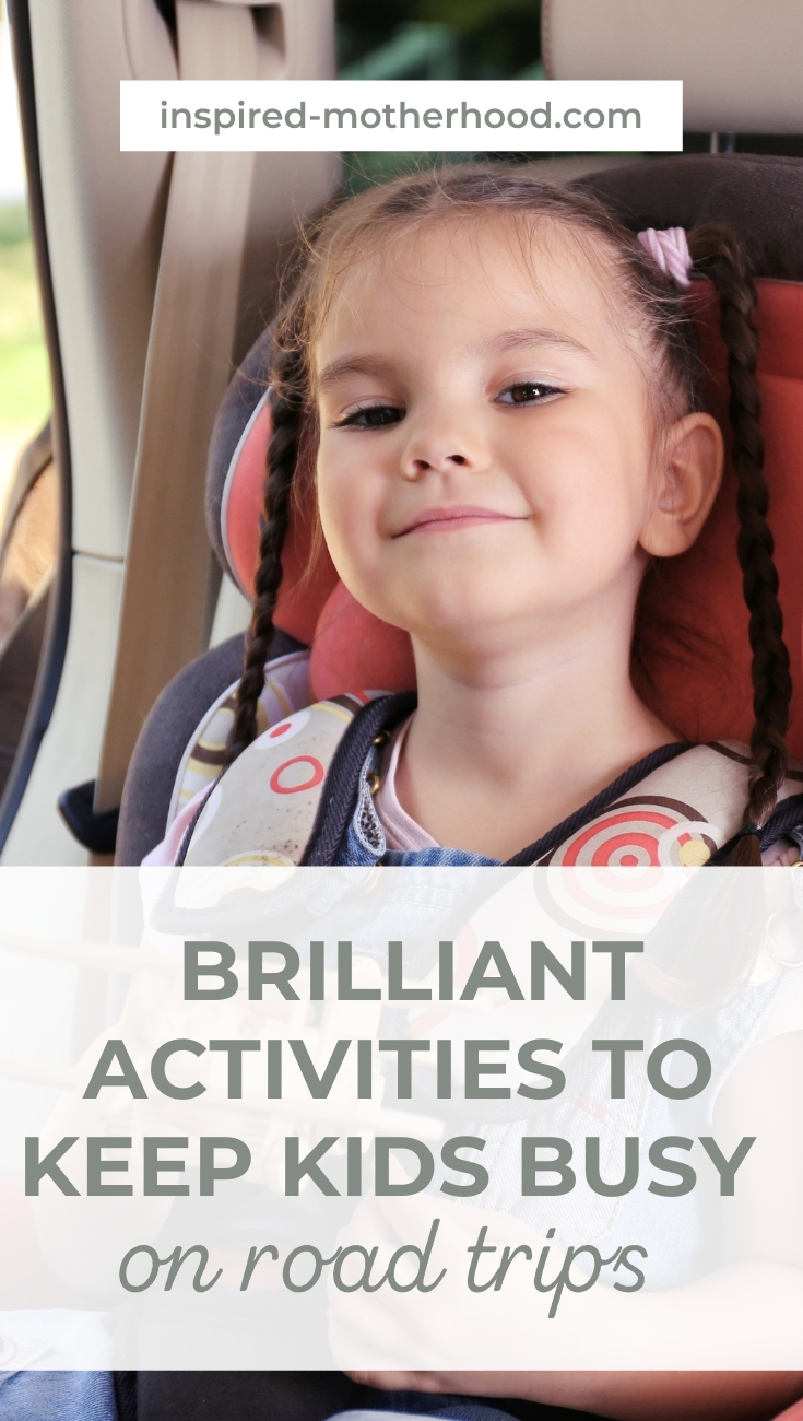 How to survive a long road trip with kids! You can do it. Prep ahead of time with these easy kids activities! Genius ways to keep kids busy on road trips.