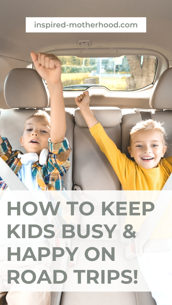 Road trips don't have to be filled with complaining. You can have fun and keep kids busy during road trips. Here are genius hacks and tricks to not lose your mind in the car with your kids!