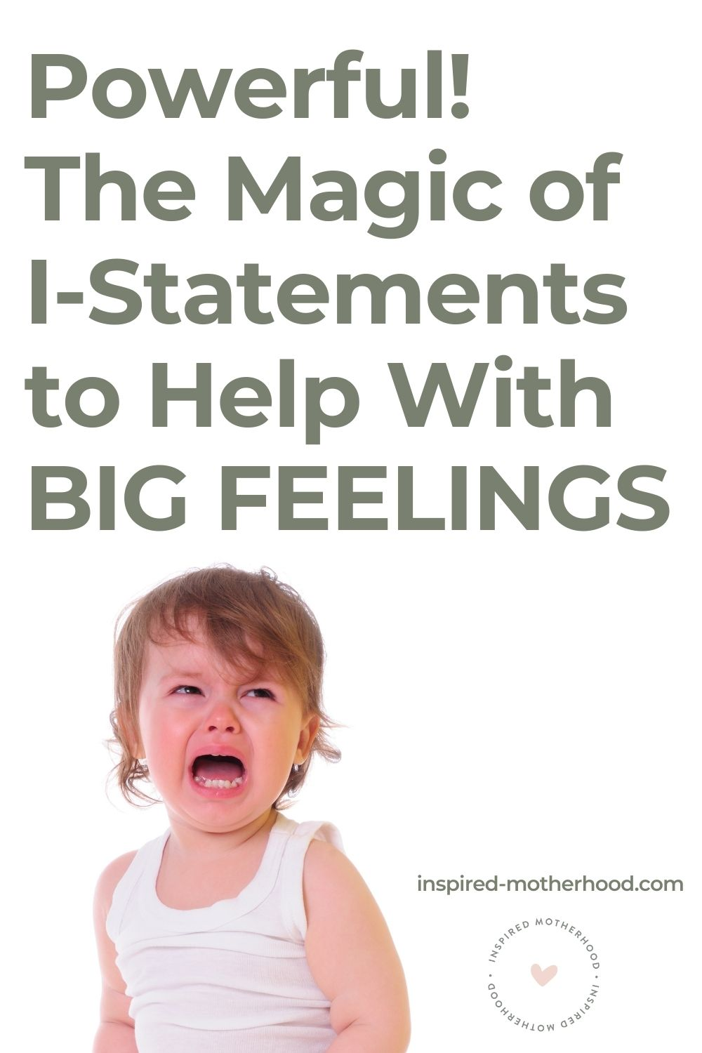 Does your child have BIG emotions that often leads to a tantrum? Here is a specific strategy for how to help kids express big feelings and manage their emotions.