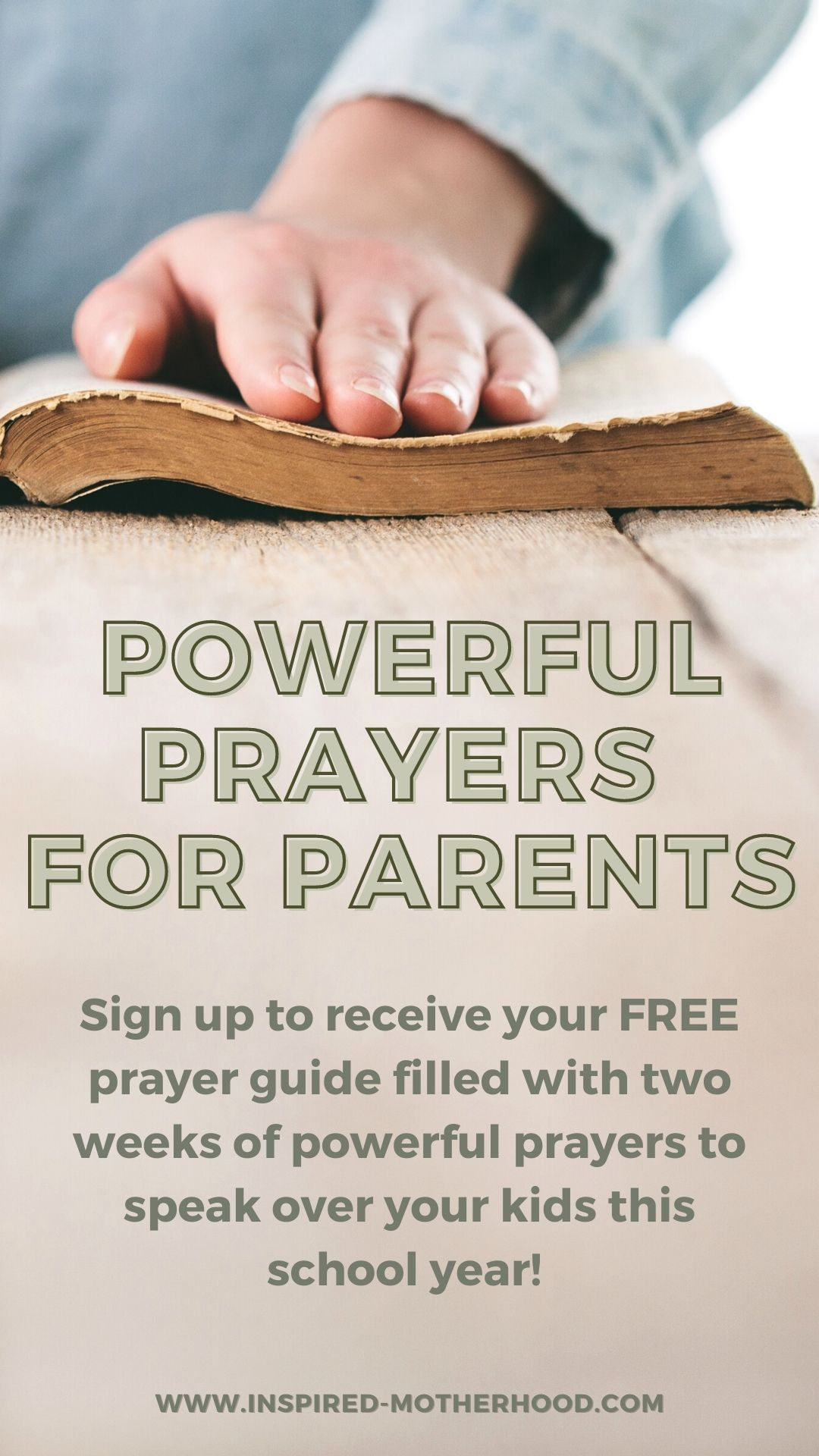 Worried about your kids going back to school? Download this free prayer guide to speak life over your child's school year!
